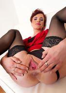 Hot Redhead Milf Big Juicy Cunt - pics 10