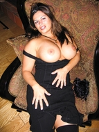 Awesome huge Boobed Milf cum - pics 03