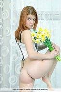 Awesome Redhead Babe Dina P - pics 01