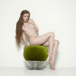 Sexy Emily Bloom on Pussy Pouffe - pics 01