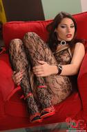 Gorgeous Pornstar Zafira Red High Heels - pics 02