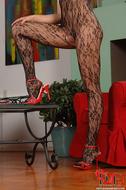 Gorgeous Pornstar Zafira Red High Heels - pics 08