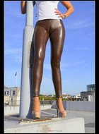 Dirty Milf Skin Tight Leggings - pics 04