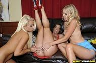 Busty Milf Trio Licking Lesbians - pics 08