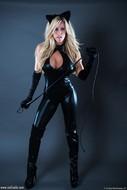 Xo Gisele in Skin Tight Catsuit - pics 01