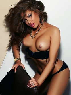 Delicious Playboy Bunny in Long Boots Reby Sky Pierced Nipples