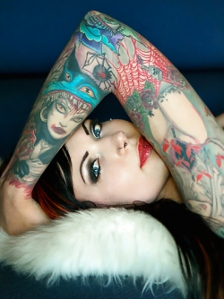Kindra Brewed Awakening - Incredibly Hot Tattooed Beauty