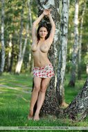 Big Boobed Sofi in the Forest - pics 00