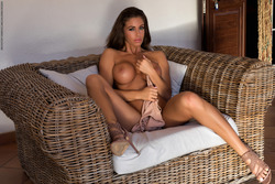 Big Boobed Isabelle Stripping Hot - pics 10