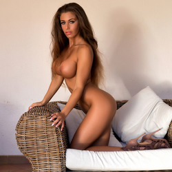 Big Boobed Isabelle Stripping Hot - pics 11