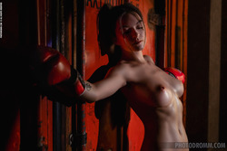 Oiled Busty Beauty Paris - Stronger - pics 11