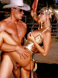 Jill Kelly and Rodeo Entourage