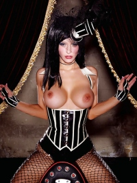 Rubber Doll - Corset and Fishnet