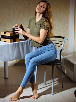 Skinny Jeans Babe Kalisy - The Gift