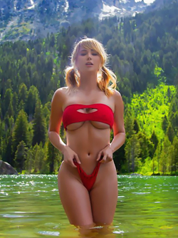 Busty Super Model Sara Jean Underwood - She's Hotter than Hell