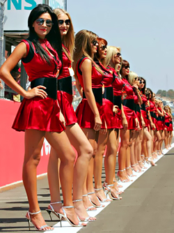 Sexy F1 Girls - Gorgeous Big titted Grid Girls Picture Collection