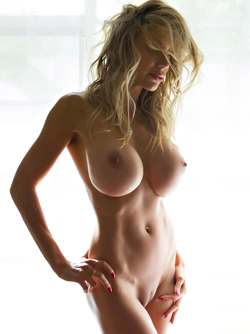 Swedish Blonde Bombshell - Puma Swede Shows her Flawless Body