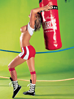 Christie Blanks, The Boxing Girl