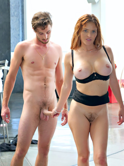Anal Assistance - Redhead Milf Krissy Lynn Gets Fucked in Lingerie