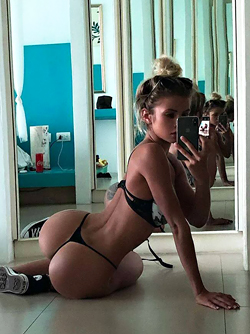 Amateur Snapshots of Beautiful Big Butts - Round Booty Collection