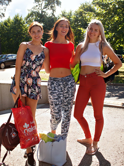 Vero, Oxana and Lauma in the Forest - Best Friends Topless Pics