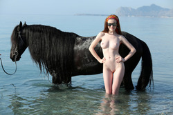Emily Bloom - Me and My Horse - pics 00