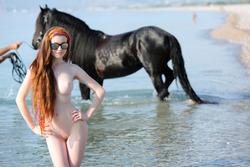 Emily Bloom - Me and My Horse - pics 02